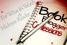 Book Blogger Confessions...Blogger Envy...