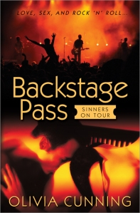 Backstage Pass by Olivia Cunning Cover