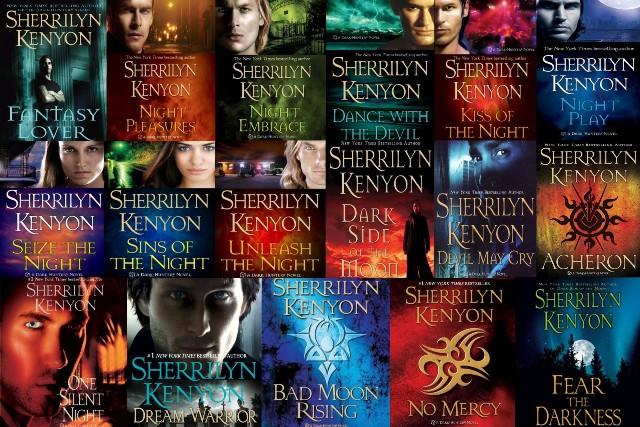 paranormal book series