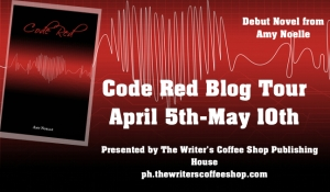 Code Red large blog tour button