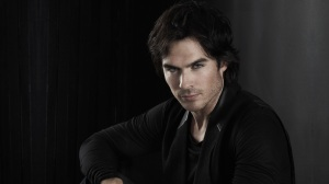 Ian was the first person I thought of, because he is great at playing the annoying vampire. Plus, he's HOT...