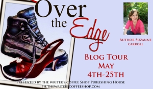 Over the edge large blog tour button