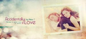 Accidently in Love banner