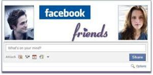 Facebook friends banner