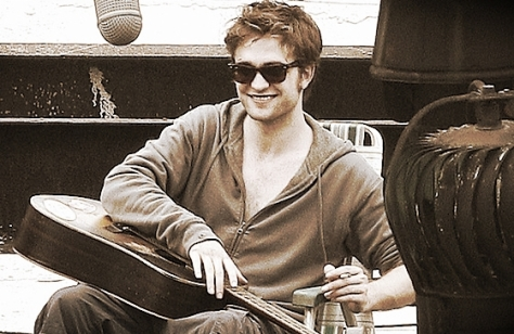 Not quite right, but this Edward plays guitar and shirts are optional!