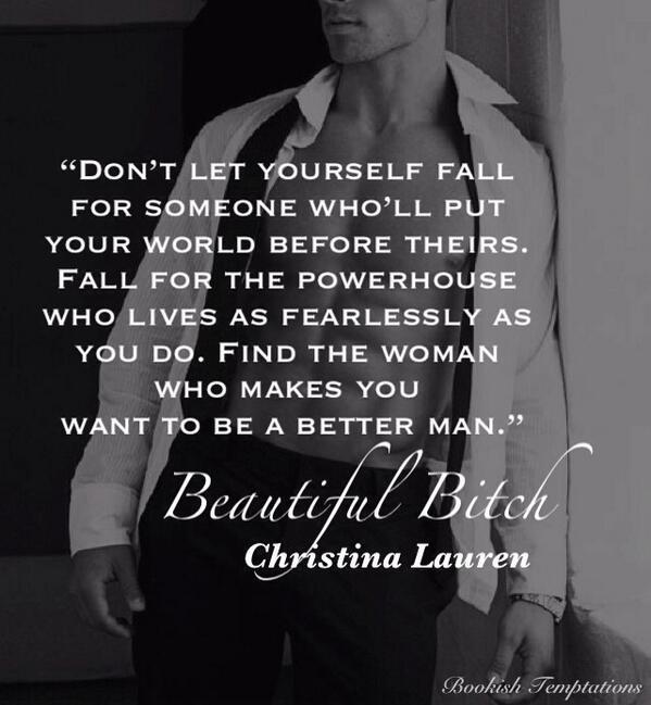 Beautiful bastard quotes