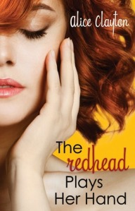 redhead plays her hand