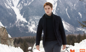 Seriously, even Edward is freezing...