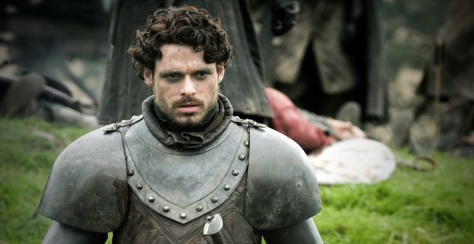Robb Stark, King of the North. And a hopeless romantic. *cries*