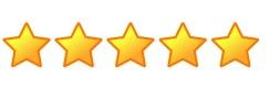 5 stars 3