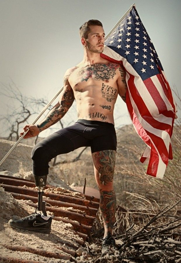 Sexy Wounded War Veterans Show Theyre Confident Enough To