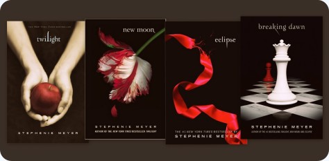 twilight series book covers