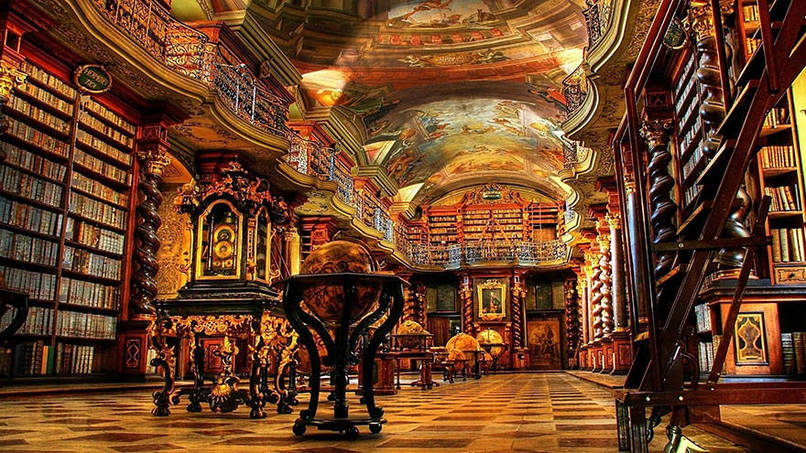 Libraries…what a nice place to be! | Bookish Temptations