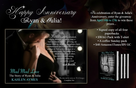 Anniversary giveaway R&J